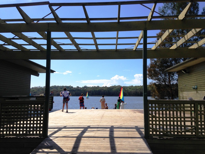 Sydney Academy of Sport, Narrabeen Lagoon Bush Trail. Middle Creek