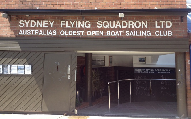 sydney flying squadron, milsons point