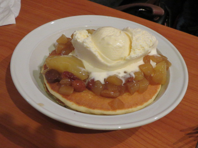 The Original Pancake Kitchen, Bavarian Apple Pancakes, Adelaide