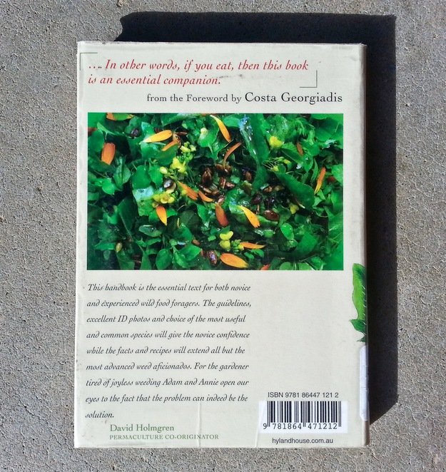 The Weed Forager's Handbook, australian weeds, Foraging,