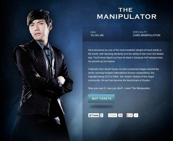 Yu Ho-Jin The Illusionists The Manipulator