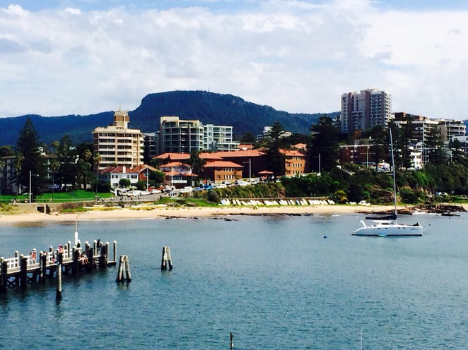 Wollongong waterfront. Photo by Ronald Bolante.