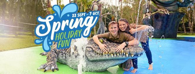 Top September school holiday activities, Sunshine Coast, Kawana Indoor Sports, cheaper than vacation care, Warana, dodge ball, indoor netball, indoor cricket, indoor beach volleyball, indoor soccer, inflatables, Wally's inflatables, Pick your own at Strawberry Fields, Palmview, Ride the Night at Aussie World, children under three FREE, Spring Holiday Fun at Australia Zoo, Bindi and Robert Irwin, Laughing Frog Lolly Shop and Ice Creamery, Laughing Frog Water Park, Spring Twilight Markets, Caloundra, Sunshine Coast Collective Markets, Coolum