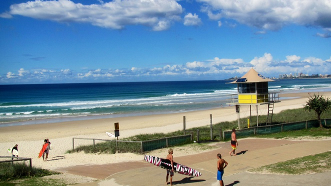 Tugun, beach, bistro, meals, park, swim, surf, Gold Coast