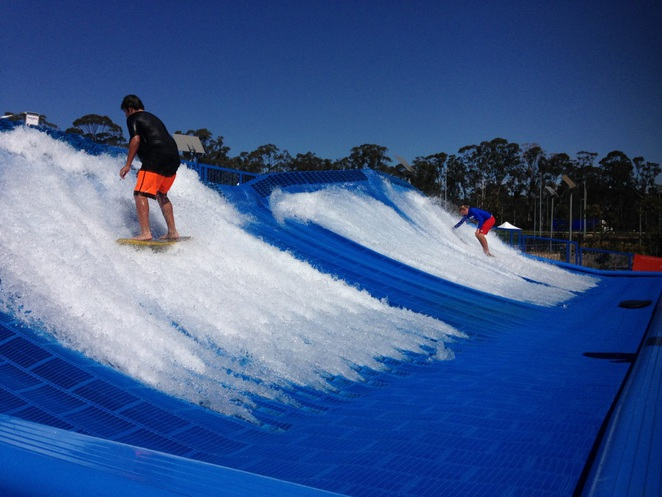 Wet'n'Wild Sydney, Wet and Wild, WetNWild, Sydney, water park, Surf Deck