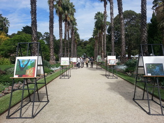 williamstown botanical garden, art