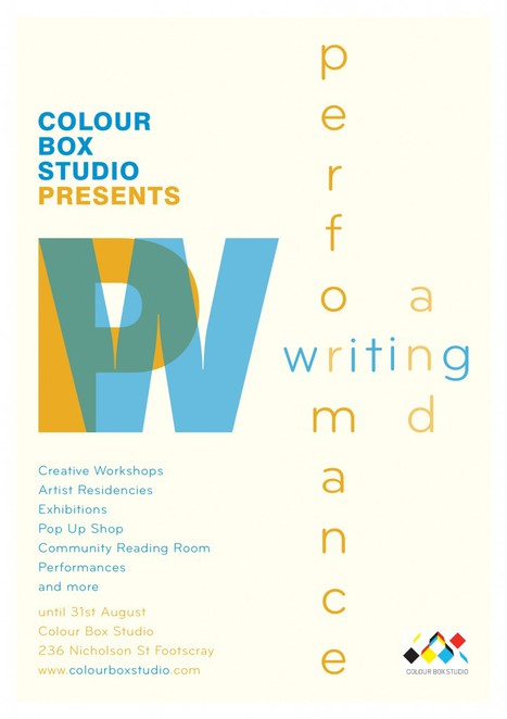 Writing Program at Colour Box Studio
