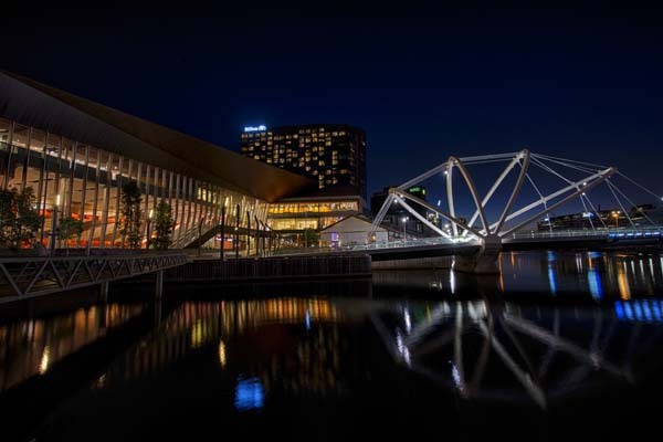 Yarra River, City, Night, Photography