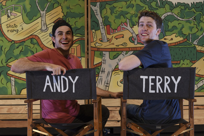 78 Storey Treehouse, Andy, Terry,
