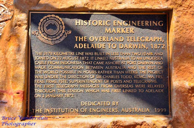 alice springs, telegraph station, overland telegraph line, northern territory