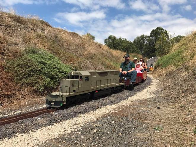 Altona Miniature Railway March Open Day
