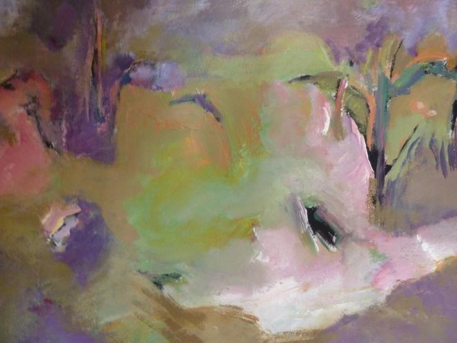 art, exhibition, Irma Denk, landscape painting, abstract, Murray Bridge Gallery