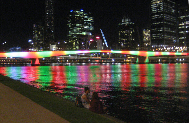 The River City uses the river to also be the City of Lights