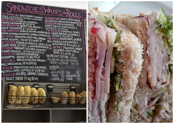 cafe d'lish, canberra, ACT, sandwiches, rolls, wraps, ACT, best sandwiches,