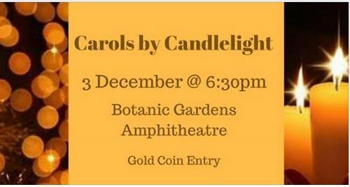 Carols by candlelight, Christmas, Darwin, George Brown Darwin Botanic Gardens, free, free family event, family event