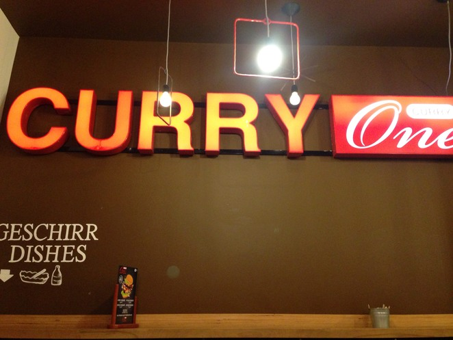 curry one, currywurst, fast food