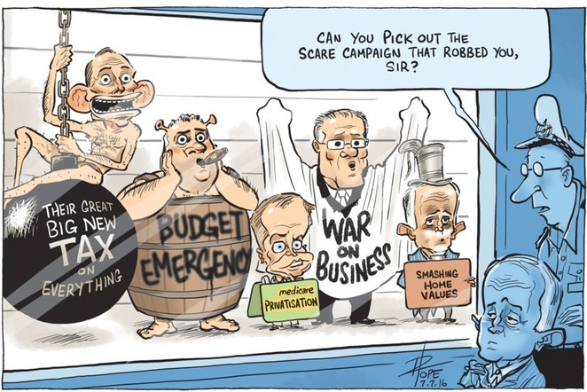David Pope, cartoon, Museum of Australian Democracy