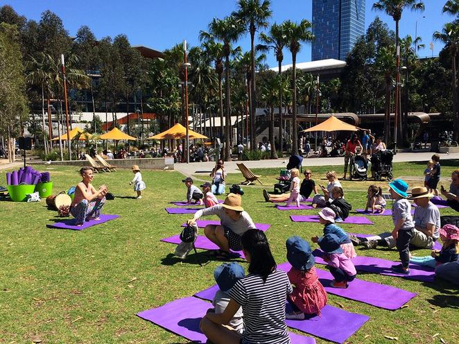 Embrace the Zen at Darling Quarter, Darling Quarter Kids Yoga