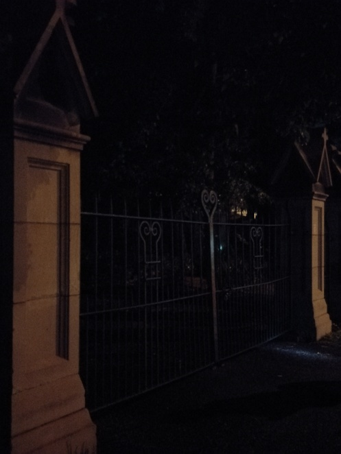 Entrance Toowong Cemetery, Ghost tour