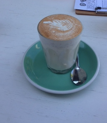 Ginger Latte, Coffee, Brunch, Atticus Finch Cafe, Paddington