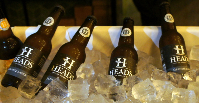 The Japanese Lager is the most popular offering from Heads of Noosa at the moment