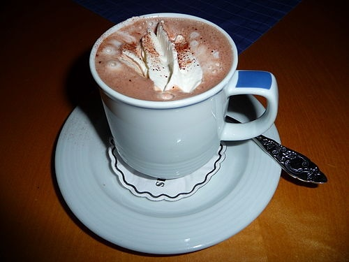 Hot chocolate, gifts, thoughts, special, surprise, love, care