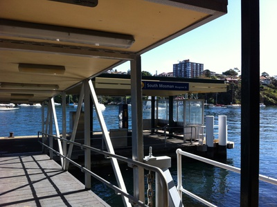 Get off from the South Mosman ferry wharf, you can start walking in the footsteps of the Curlew Camp artists