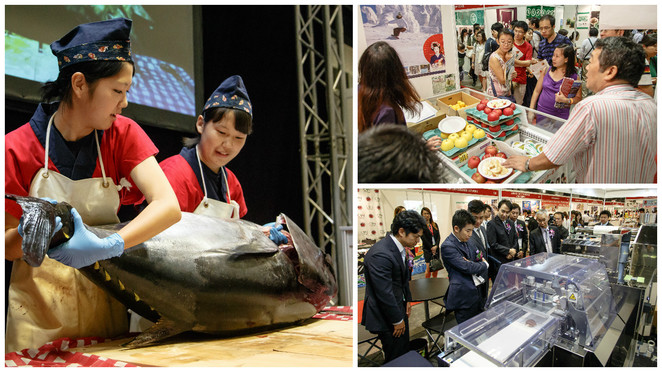 Japan food 2016, oishii japan, oishii world, japanese food singapore, japanese food fair, Suntec city