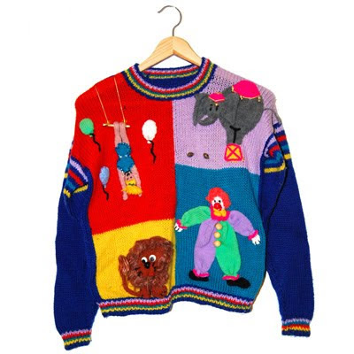 jolly jumper, ugly, jumper, cardi, sweater