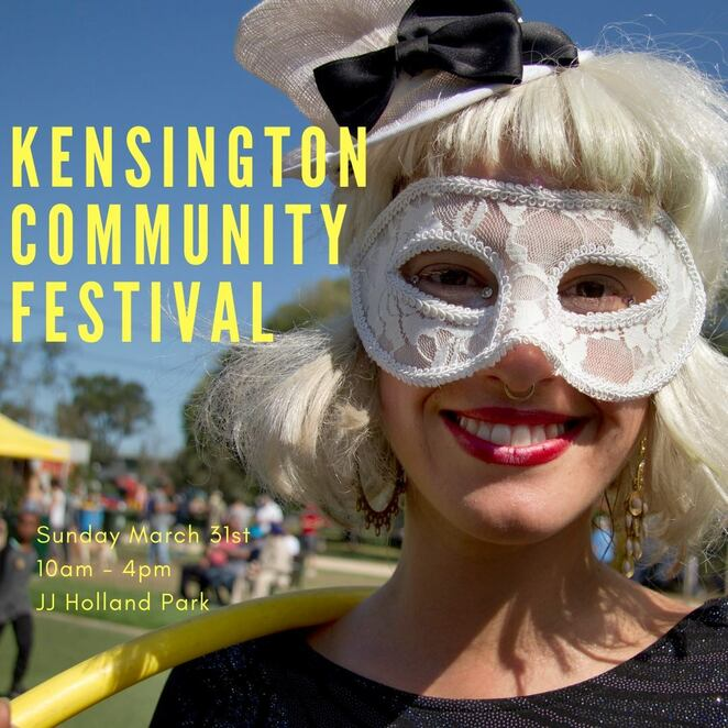 kensington community festival 2019, community event, fun things to do, j j holland park, free family event, food trucks, sustainability hub, local businesses, music, celebrate the community, multicultural