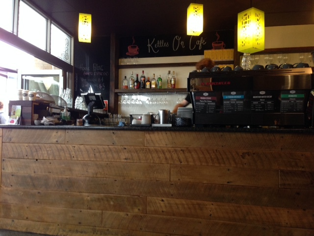 Kettles On Cafe in Kingscliff Front bar