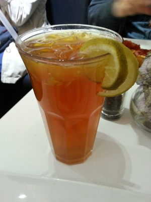 The Lemon and Earl Grey Iced Tea from Argo's is the ideal for tea drinkers in the warmer weather.