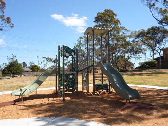 leonora close, park, hornsby heights, play equipment