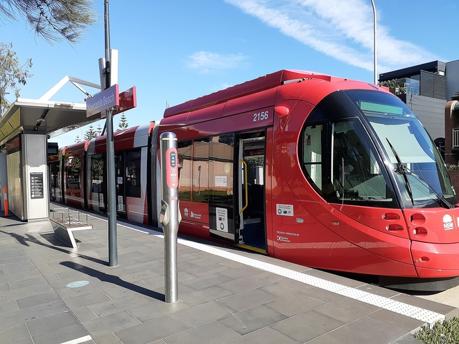 light rail, newcastle, trams, kids, timetable, things to do, newcastle beach, civic, school holiday activities, children,