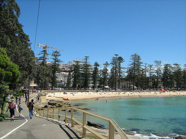 manly beach, cabbage tree bay coastal walk, manly walks