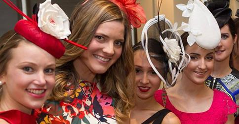 melbourne cup day hats brisbane racing horses
