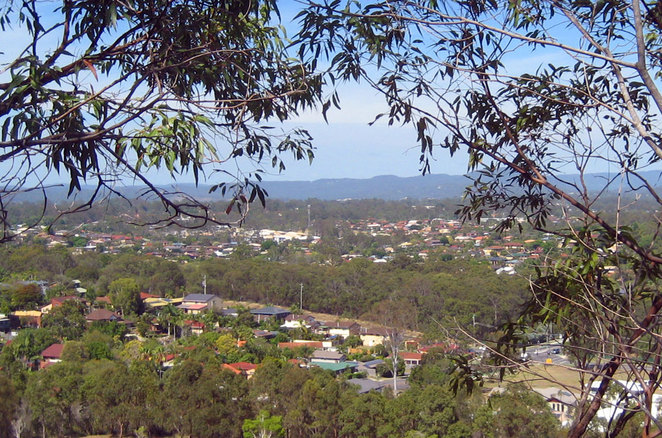 View from Milne Hill Reserve
