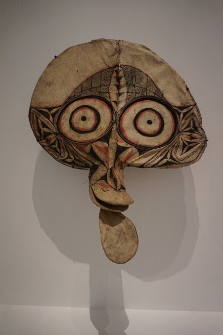 One of the masks