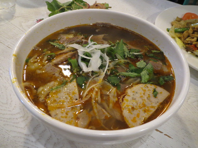 Pho Khang's, Lemongrass Spicy Beef & Pork Noodle Soup, Adelaide