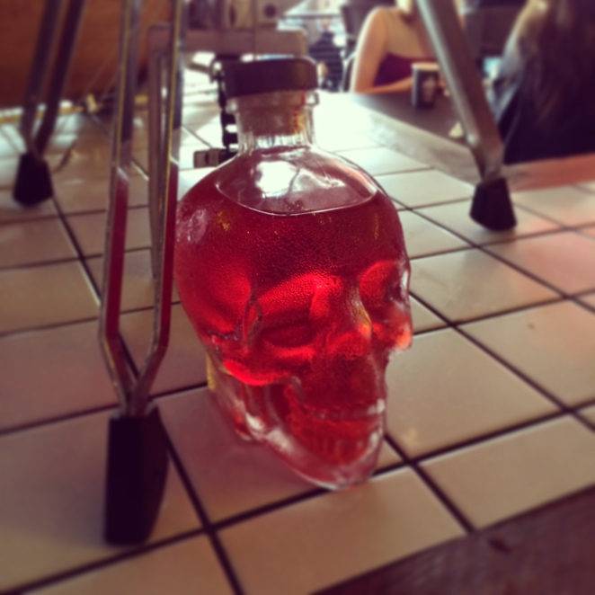 Halloween Punch Manly Crystal Skull Sydney