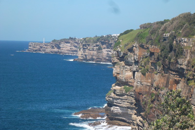Cliff Views looking towards Bronte