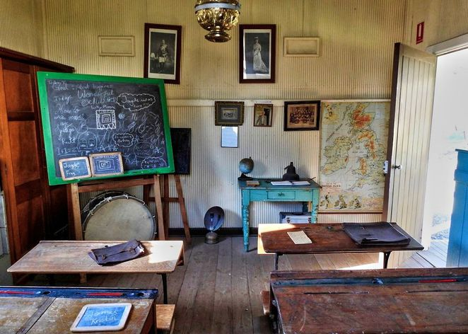 prospect hill historical museum, prospect hill museum, prospect hill, adelaide hills, museum, south australia, kuitpo forest, historical museum, meadows, school room