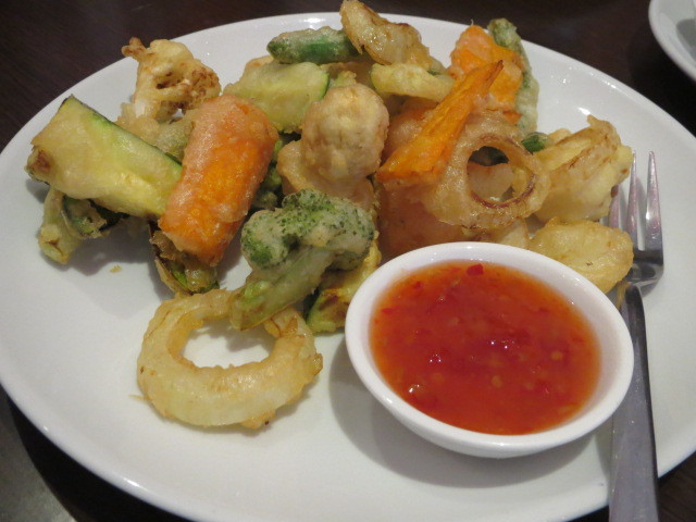 PunThai Restaurant, Tempura Vegetables, Adelaide