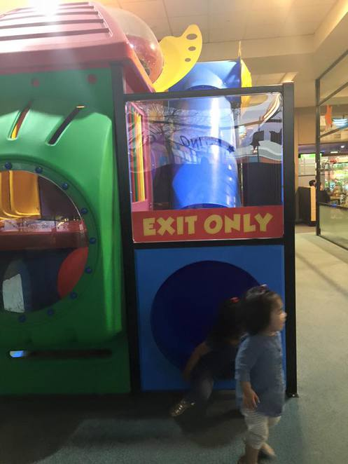 Fun indoor play area for kids at Gungahlin Raiders Club. Image from Raiders Club Facebook page