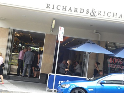 r&r cafe bar, richards and richards, photo by west end girl, restaurants brisbane cbd