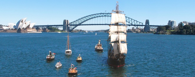 Sail this Spring with Sydney Heritage Fleet