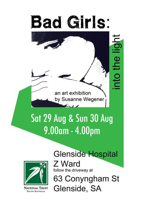 sala festival, art exhibition, z ward, glenside hospital, bad girls into the light, bad girls, z ward glenside, national trust sa