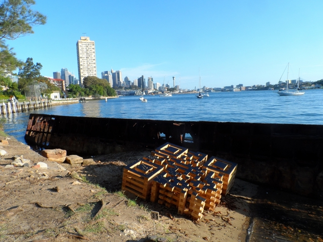 sculpture exhibition, sawmillers reserve, mcmahons point, sydney, sydney harbour foreshore