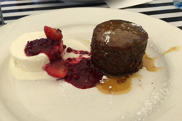 Sticky Date Pudding, best dessert Brisbane, Yeronga cafe, cafe 63