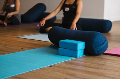 stretch yoga bolster block brisbane